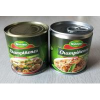 China 184G Canned Champignon Mushroom Canned Fresh Mushrooms Slices / Pieces And Stems wholesale