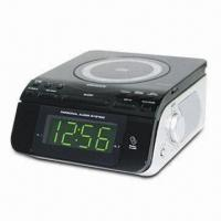 China CD Player with Clock Radio, Dual Alarm and FM Wire Antenna on sale