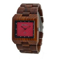 China ZS-16A Vogue Dial Wooden Wrist Watch With Japanese Battery , CE ROHS Approved wholesale