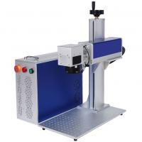 China Metal Leather Laser Engraving Machine 300mm X 300mm 7000mm/S High Speed wholesale