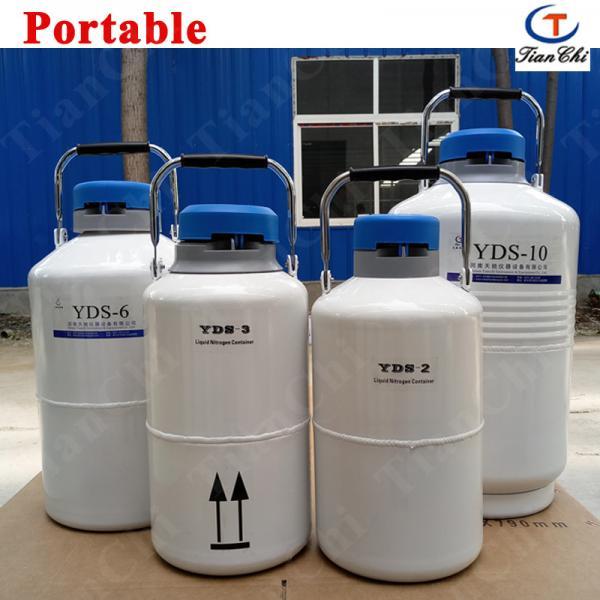 Portable liquid nitrogen container 2L nitrogen ice cream equipment