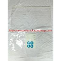 China Large Permanent Self Adhesive Plastic Bags 1 Color Gravure Printing wholesale