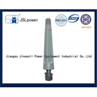 China Modified Polyethylene HDPE Pin Insulator Spindle BS Standard Gray Color wholesale