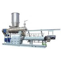 China 1000kg/h twin screw extruder Jordan  floating fish feed machine price wholesale