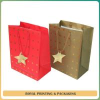 China customize colorful paper gift bag printing wholesale