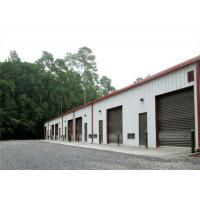 Buy cheap Square Tube, H Steel, Sandwich Panel Structure Garage Building For Sale from wholesalers