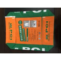China Custom Printed PP Valve Sealed Bags , Recycled Woven Polypropylene Bags wholesale