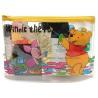 China Winnie Bear Plastic Travel Zipper Pouches, PVC Travel Kits Cosmetic Zipper Pouches 20 x13 cm wholesale