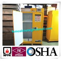China Filtered type Flammable Storage Cabinet , Industrial Safety Cabinet With Ventilation System wholesale