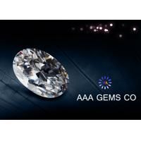 China Supper White Classic Oval Moissanite Loose Stones Moissanite 1ct wholesale