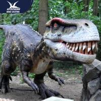 China Zoo Equipement Realistic Dinosaur Models Handmade Customizable Size wholesale