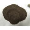 China Emery Grinding Powder Abrasive Sand Blasting , Brown Fused Corundum For Grinding Wheels wholesale