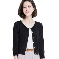 China Button Down Womens Long Cardigans Summer Short Cardigan Sweaters Lightweight wholesale