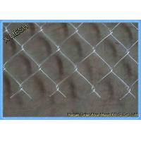 Quality Green Vinyl Coated Chain Link Fence Panel For Farm 5mm Wire Dia for sale