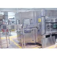 China PLC Control Carbonated Beverage Filling Machine , Soft Drink Bottling Machine wholesale