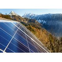 China Blue 72 Cell Solar Power Panels , Off Grid Solar Modules Customized Size wholesale