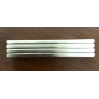 China Custom Shaped N45 Neodymium Bar Magnets 60X10X3mm With 3M Adhesive Super Strong For Glasses Fixing wholesale