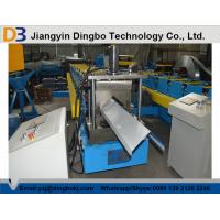 China High Precision Metal Roof Ridge Cap Roll Forming Machine With 5 Ton Decoiler wholesale