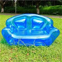 China Summer Home Garden Inflatable Kids Toys Double Perosn Sofa Bed / Outdoor Indoor Beach Chairs wholesale