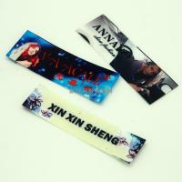 Washable PET Film Heat Transfer Clothing Labels , Heat Transfer Fabric Labels