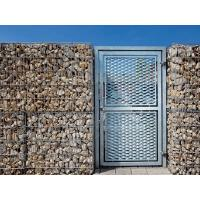 China Good Through Vision Expanded Metal Gate Anti - Corrosion Waterproof Easy Installation wholesale
