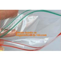China Double zipper tracks LDPE clear plastic ziplock bag plastic ziplock freezer bag, double track ziplock bag for grocery, w wholesale