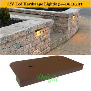 China 12V LED Deck Lights, LED Hardscape Lights for Retaining Wall Light, brick and stone light wholesale