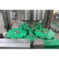 China Glass Bottle Capping And Labeling Machine , Liquid Filling And Capping Machine wholesale