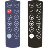 China Membrane Control Panel For TV Controller wholesale