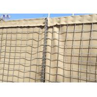 China Military Hesco Bastion Sand Filled Barriers Retaining Wall For Protection on sale