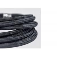 China High Flame Retardant Braided Nylon Sleeve custom Width For Cable Wire Harness wholesale