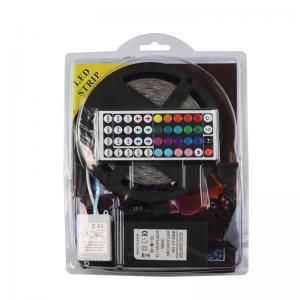 China SMD5050 RGB light strip set 44-key controller LED flexible light bar on sale