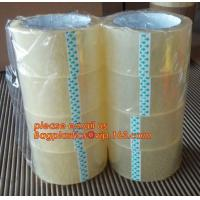 China BOPP color tape Super clear packing tape Low noise packing tape BOPP stationery tape Double-sided jumbo roll BAGPLASTICS wholesale