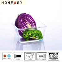 China pyrex/heat resistant/borosil/Round glass microwaveable container/baking dishes wholesale