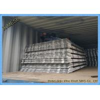 China Stainless Steel Staircase Anti - Slip Steel Mesh / Expanded Metal Fence Free Sample wholesale
