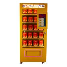 China Full Metal Soda Vending Machine , Blue / Pink / Yellow Lucky Box Food Vending Machines wholesale