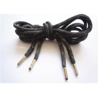 China Elastic Black Flat Shoe Laces / Basketball Shoe Laces Durable wholesale