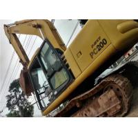 China Japan Second Hand Komatsu Excavator PC220 6 , No Any Damage Used Komatsu Backhoe wholesale