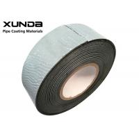 China Black Polypropylene Fiber Woven Tape For Steel Pipeline Onshore Offshore wholesale
