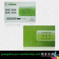 China CMYK 4 Colour Magnetic Stripe Printed Plastic Cards For Restaurant on sale