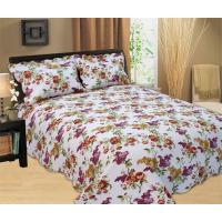 China Durable Country Style Printed Quilt Set Hand Wash Natural Cotton Fabrics wholesale