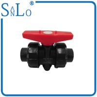 China 4 Inch Polyethylene Pipe True Union Ball Valve  For Industrial Sewage Discharge Delivery wholesale