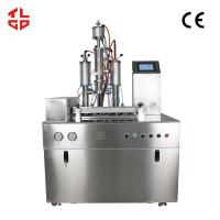 China Low Noise Semi Automatic Aerosol Filling Machines For Hair Spray / Styling Gel wholesale