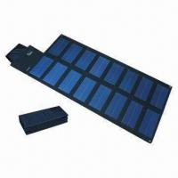 China 14.4 W Foldable Solar Charger, Customized Power Voltages and Currents are Welcome wholesale
