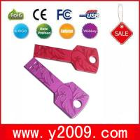 Buy cheap 1GB-64GB Key Usb Flash Drive with free logo from wholesalers