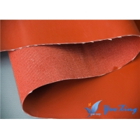 China 0.8mm Twill Woven Rubber Silicone Coated Glass Fabric wholesale