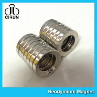 China Multipole Radial Magnetization Neodymium Magnets Ring Shaped for Speaker wholesale