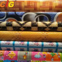China Multi Color Printing Waterproof PVC Floor Covering 0.35 - 1.2mm Thickness wholesale