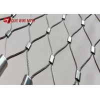 China 7x7 Construction Metal Wire Mesh Inox Cable Wire Rope Mesh Weather Resistant wholesale