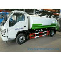 China Foton 3000L Carbon Steel Construction Water Truck / Stainless Steel Water Truck wholesale